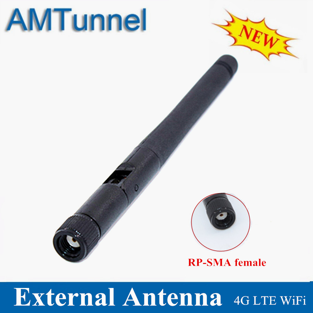 Antena WiFi 4G Modem Antenna 2.4GHz WLAN 3dBi LTE Antenne External Mini RP-SMA Female Connector For Huawei ZTE TP-LINK Routers
