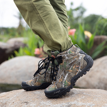 Winter Waterproof Tactical Boots Men Big Mountain Hiking Boots Outdoor Combat Shoes Trekking Sneakers Man Hiking Hunting Boots 4