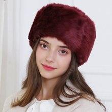 Mulheres inverno russo chapéus grosso fofo peles do falso skullies beanies esqui bombardeiro earwarmer chapéu de pele quente earflaps bonnet