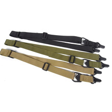 Tactical MS3 Two 2 Points Gun Sling Strap Adjustable Nylon Airsoft Rifles Belt Carry Shoulder Hunting Accessories