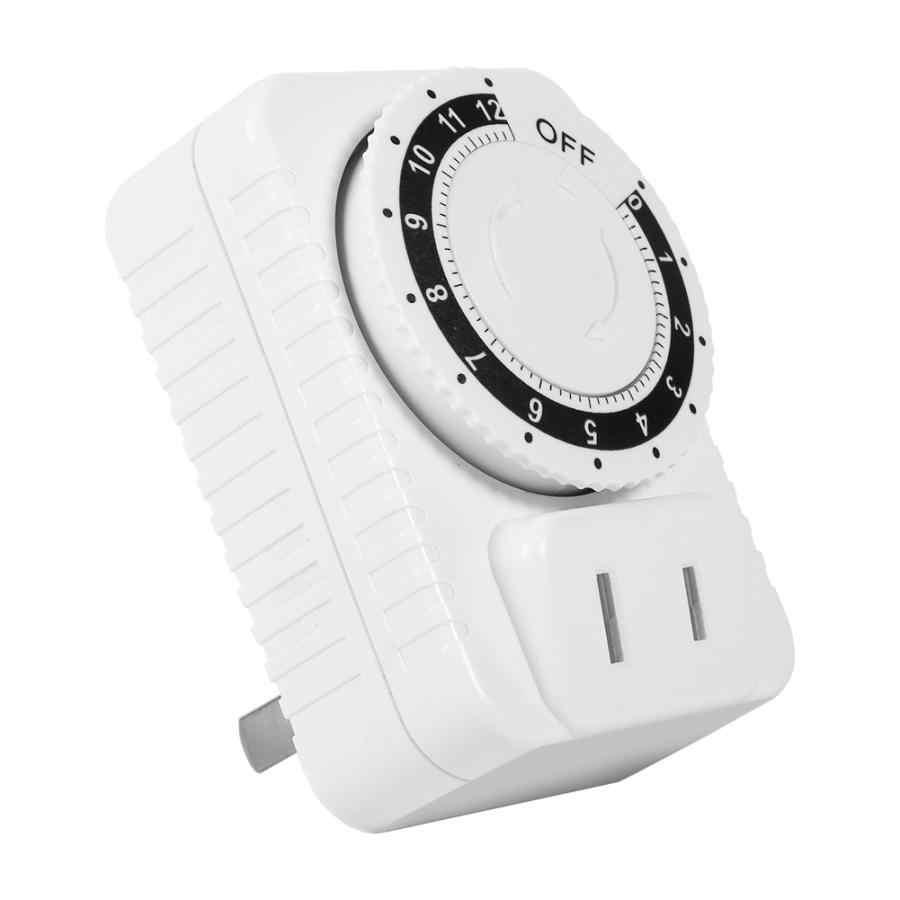 12 godzin elektryczny mechaniczny włącznik ścienny cyfrowy zegar odliczjący programator czasowy przełącznik zasilania gniazdo oszczędzanie energii Hot
