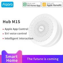 Aqara Hub M1S Mijia Gateway Zigbeeการเชื่อมต่อสำหรับXiaomi Smart Home RGB Night LightทำงานMi Home homeKit APP