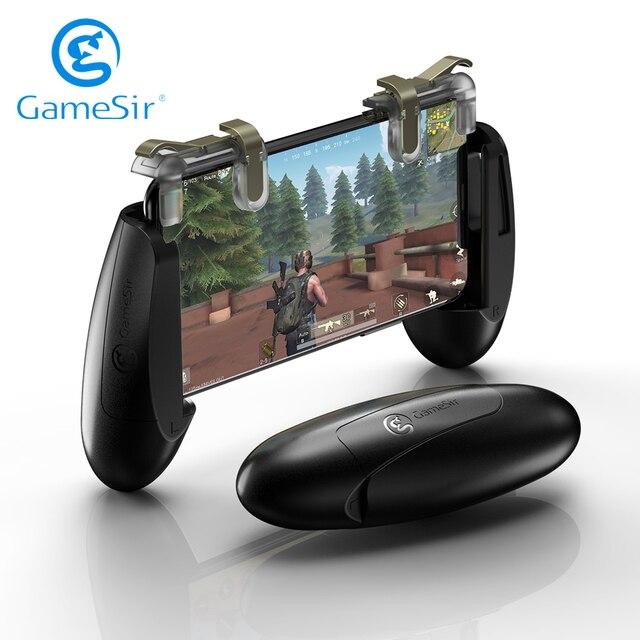 عصا تحكم الألعاب المتنقلة GameSir F2 مزودة بأزرار إطلاق نار لهاتف iOS وأندرويد لوحة ألعاب PUBG Call of Duty