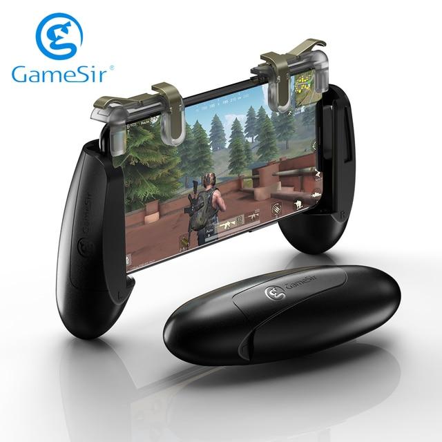 Gamesir F2携帯ゲームコントローラジョイスティック撮影トリガボタンiosとandroidの電話ゲームパッドpubgデューティ
