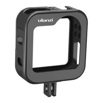 Ulanzi GM-3 Chargable GoPro Max Metal Cage Portable Vlog Case Battery Door Design Cold Shoe Mount For Mic LED Light
