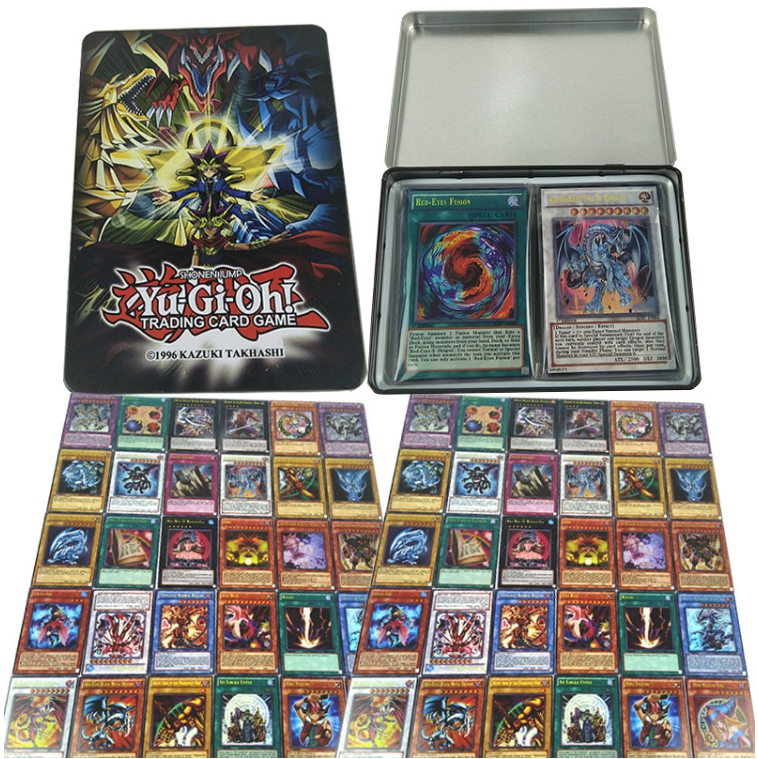 100pcs No repetition Yu gi oh Rare Flash Cartes Yu Gi Oh Jeu Papier Cartes Enfants Jouets Fille Gar&on Collection Yu-Gi -Oh Card 2