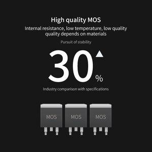 Image 5 - 17S 60V 3.7V placa de proteção da bateria de lítio BMS proteção de sobrecorrente de equalização de temperatura PCB 70A 100A 130A