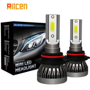 Image 1 - 2 قطعة سيارة المصباح مصباح صغير H7 LED لمبات H1 LED H8 H11 المصابيح الأمامية كيت 9005 HB3 9006 HB4 6000k الضباب ضوء 12V LED مصباح 36W 8000LM