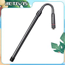 Retevis HA03 Foldable Tactical Antenna Bendable SMA F  Airsoft Game Walkie Talkie Antenna For Baofeng UV 5R BF888S  Ailunce HD1