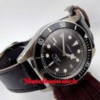 41mm Corgeut Miyota 8215 20ATM automatic men's watch black Bezel sapphire glass luminiuos deployant clasp waterproof