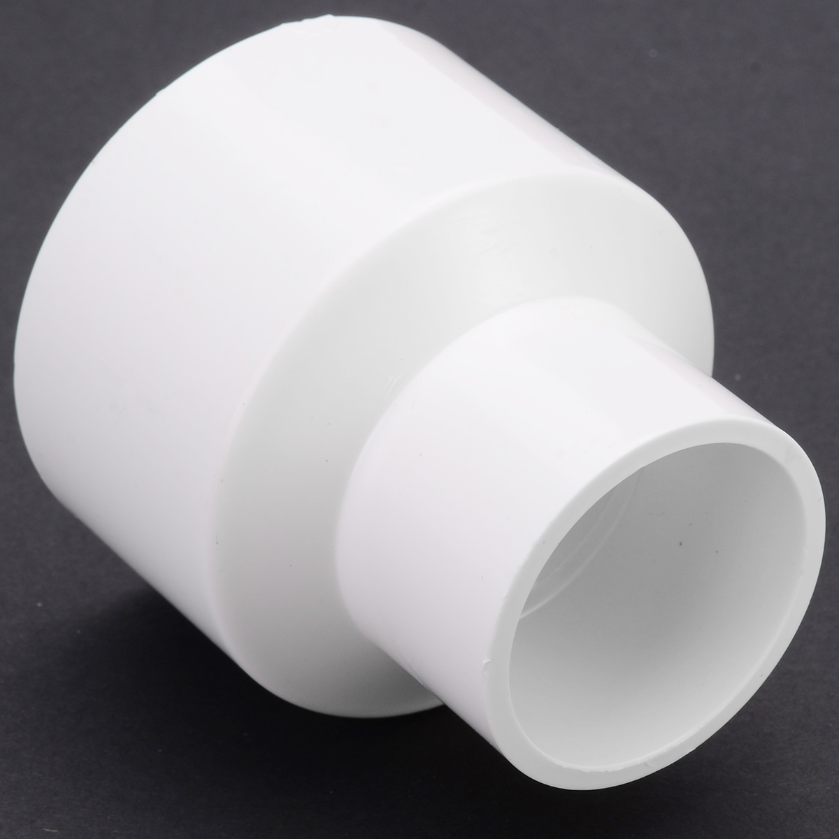 1Pcs PVC Woodworking Reducer Adaptor 50mm To 32mm For Dust Collector For Woodworking Power Tool