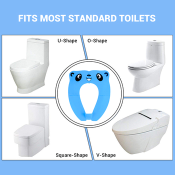 New Baby Potty Training Seat For Baby Travel Foldable Kids Toilet Seat Cover Kid Toilet Pad 3