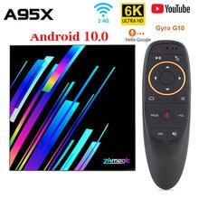 2020 novo android 10.0 caixa de tv allwinner h616 quad core 2gb 4gb 16gb 32gb google media player 6k smart tv caixa z3 +