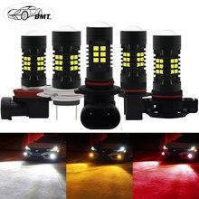 BMT H8 H11 H7 Led Bulb 9006 HB4 HB3 H10 H16 5202 PSX24W PS19W P13W PSX26W Led Bulb Car Fog Light 1200LM Auto Lamp Bulbs