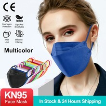 10-100PCS FFP2 Mascarillas Certified KN95 Filter Mask Reusable Masque Protective Face mask FPP2 Mascarillas CE Approved