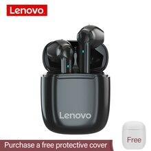 Lenovo XT89 cuffie Bluetooth senza fili auricolari Wireless Stereo controllo Touch Stereo auricolari musicali con microfono cuffie da gioco