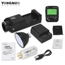 YONGNUO YN200 TTL HSS 2.4G 200 واط بطارية ليثيوم مع USB نوع C ، متوافق YN560 TX (II)/YN560 TX Pro/YN862 لكانون نيكون