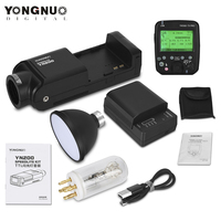 YONGNUO YN200 TTL HSS 2 4G 200W batería de litio con USB tipo C Compatible YN560-TX (II)/YN560-TX Pro/YN862 para Canon Nikon