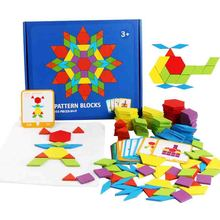 Hot Sale 155 Pcs Creative Wooden Jigsaw Puzzle Toy Children's Early Montessori Education Puzzle Variety Geometric Shape Game Toy free shipping baby wooden montessori teaching aids puzzle toy children early education puzzle kids geometric shape puzzle toy