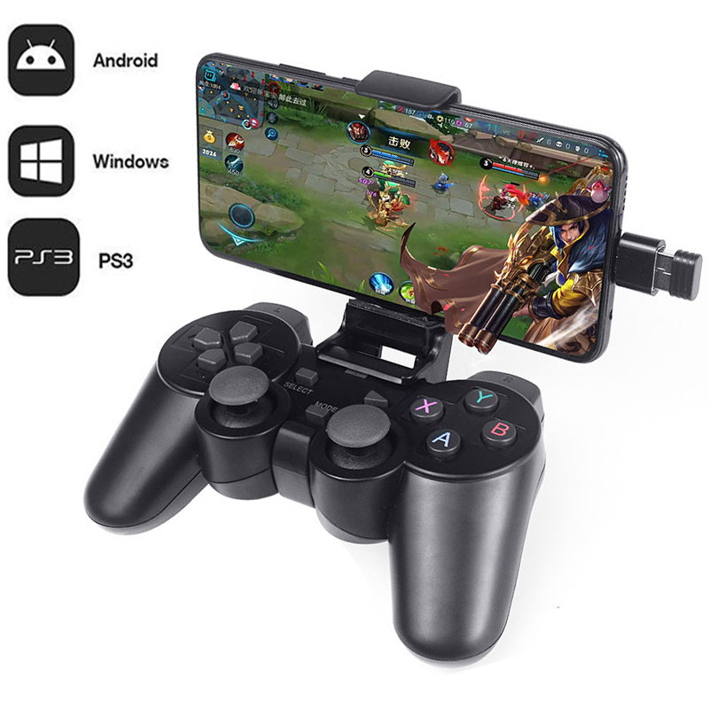 Gamepad Android Joystick Otg-Converter Tablet Smart-Tv-Box Wireless-Controller with Joypad title=