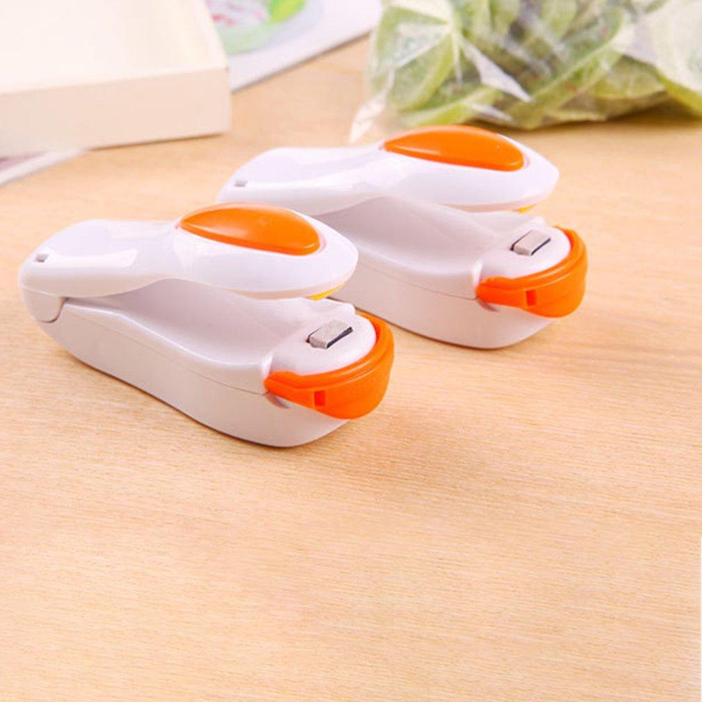 Handheld Portable Bag Clips Mini Electric Heat Sealing Machine Impulse Sealer Seal Packing Plastic Bag