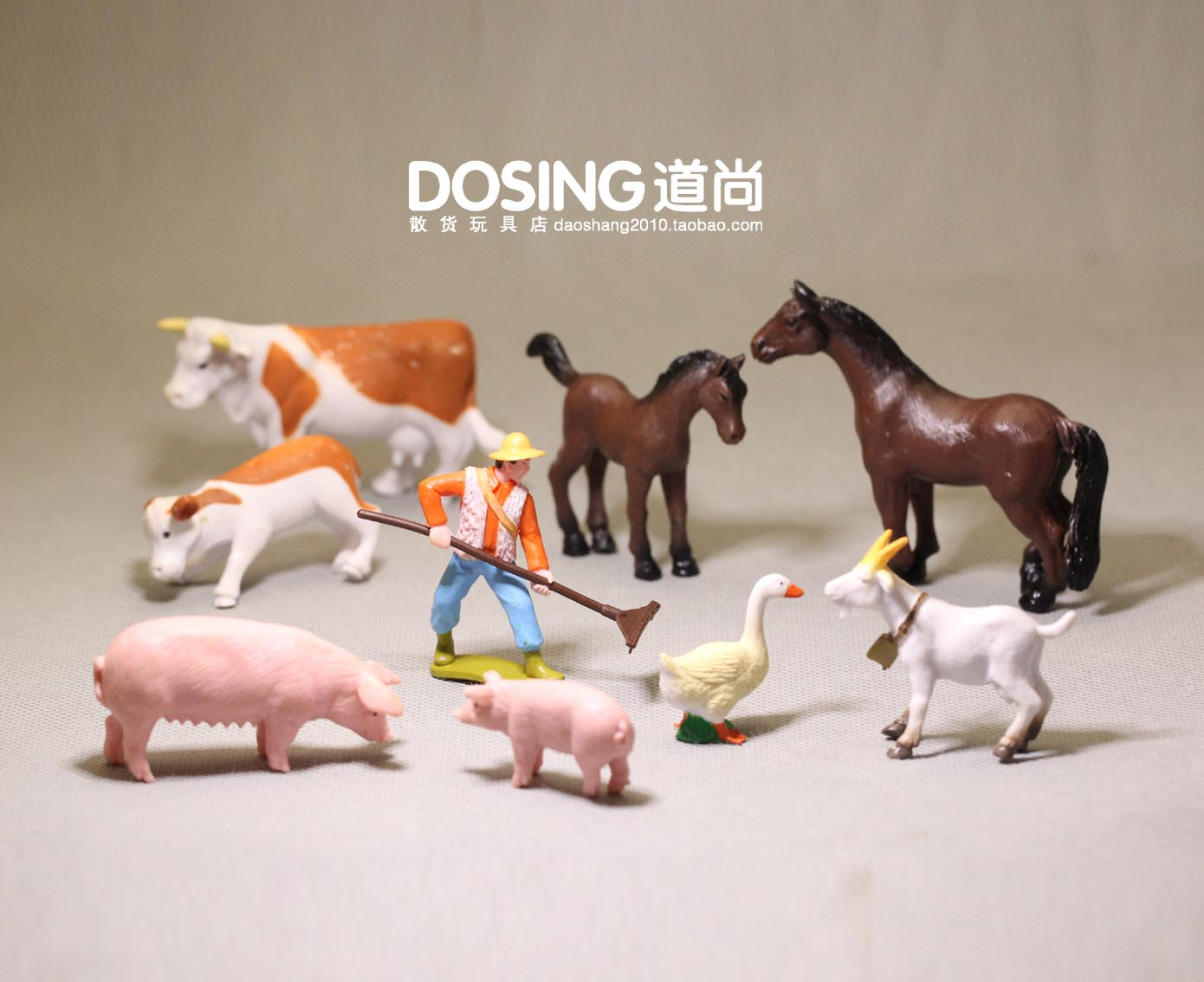 Black Sheep Farm Animal Model Figure Figurine Kids Toy Gift Home Decor