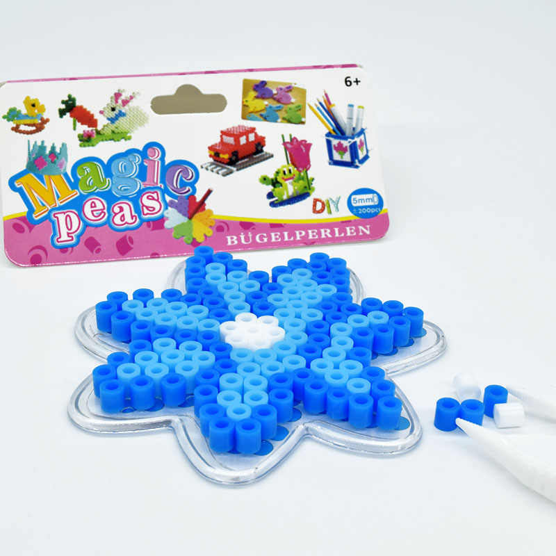 لتقوم بها بنفسك ندفة الثلج فيوز الخرز 5 مللي متر حماة الخرز لغز التعليم لعبة الحرف للأطفال الأطفال لتقوم بها بنفسك التعليمية