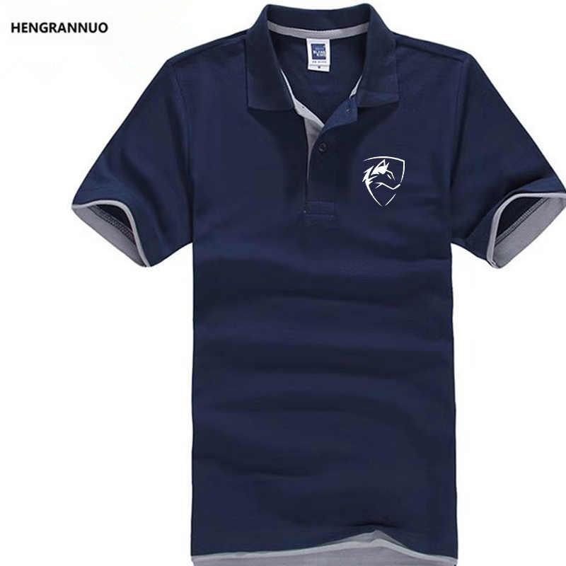 新 2019 ファッションプリント男性ポロシャツラペル襟半袖トップスカジュアル古典的な男性ブランドスプライス色ポロシャツ ou コード