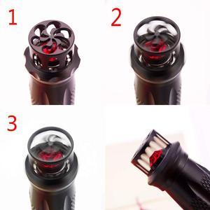 Image 3 - Black Fuliwen 015 Windmill Metal Aluminum Fountain Pen Rotating Ruby Pen Top EF/F/M Ink Pen, Come with Fuliwen Pen Bag & Box