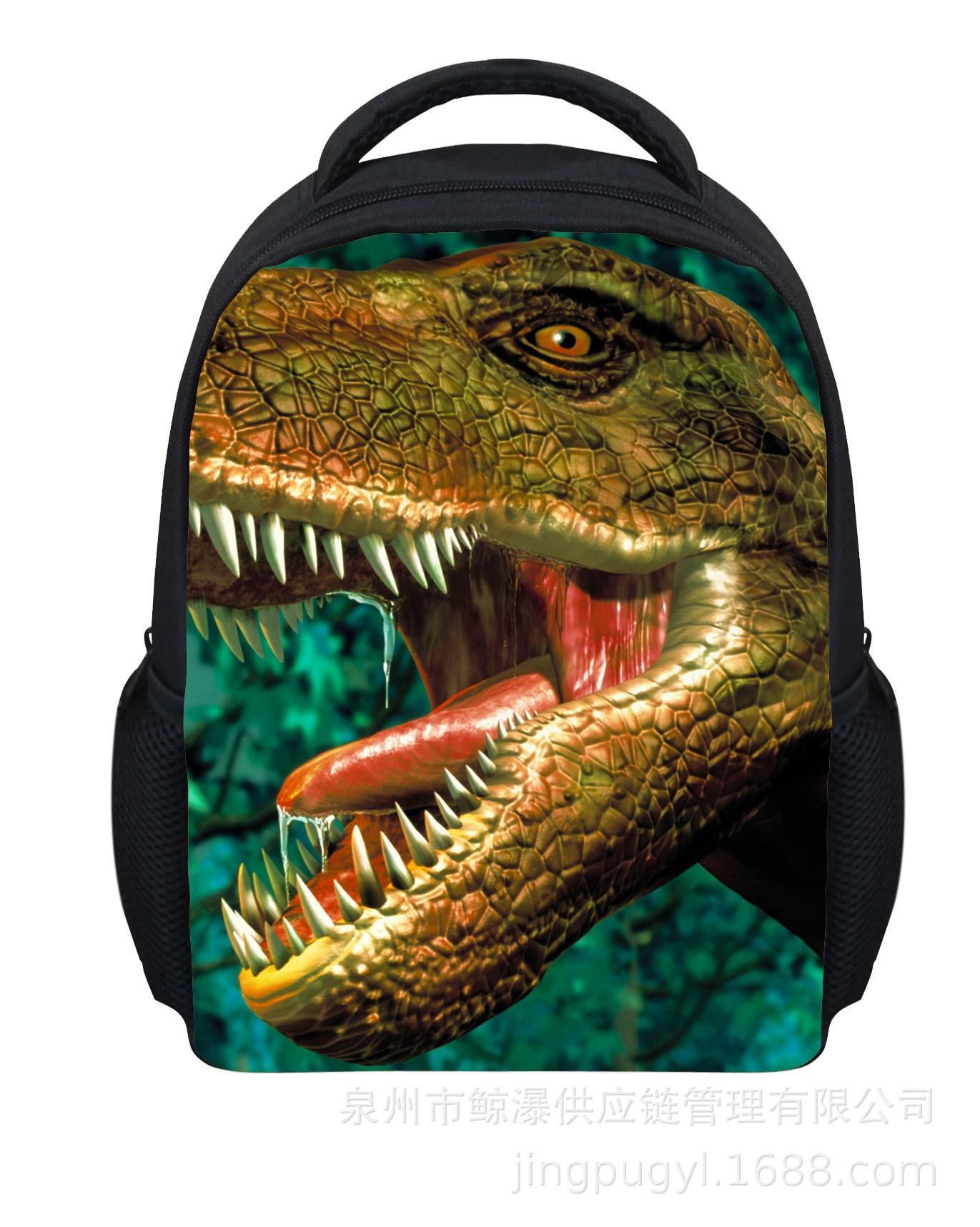 Hot Selling New Style Dinosaur Tiger Lion King CHILDREN'S Rucksack Students Mini School Bag Backpack