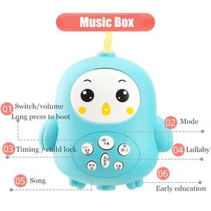 Image 3 - 4305 conteúdos berço móvel cama sino com música e controle remoto aprendizagem precoce crianças brinquedo bebê chocalho infantil brinquedos para 0 12 meses