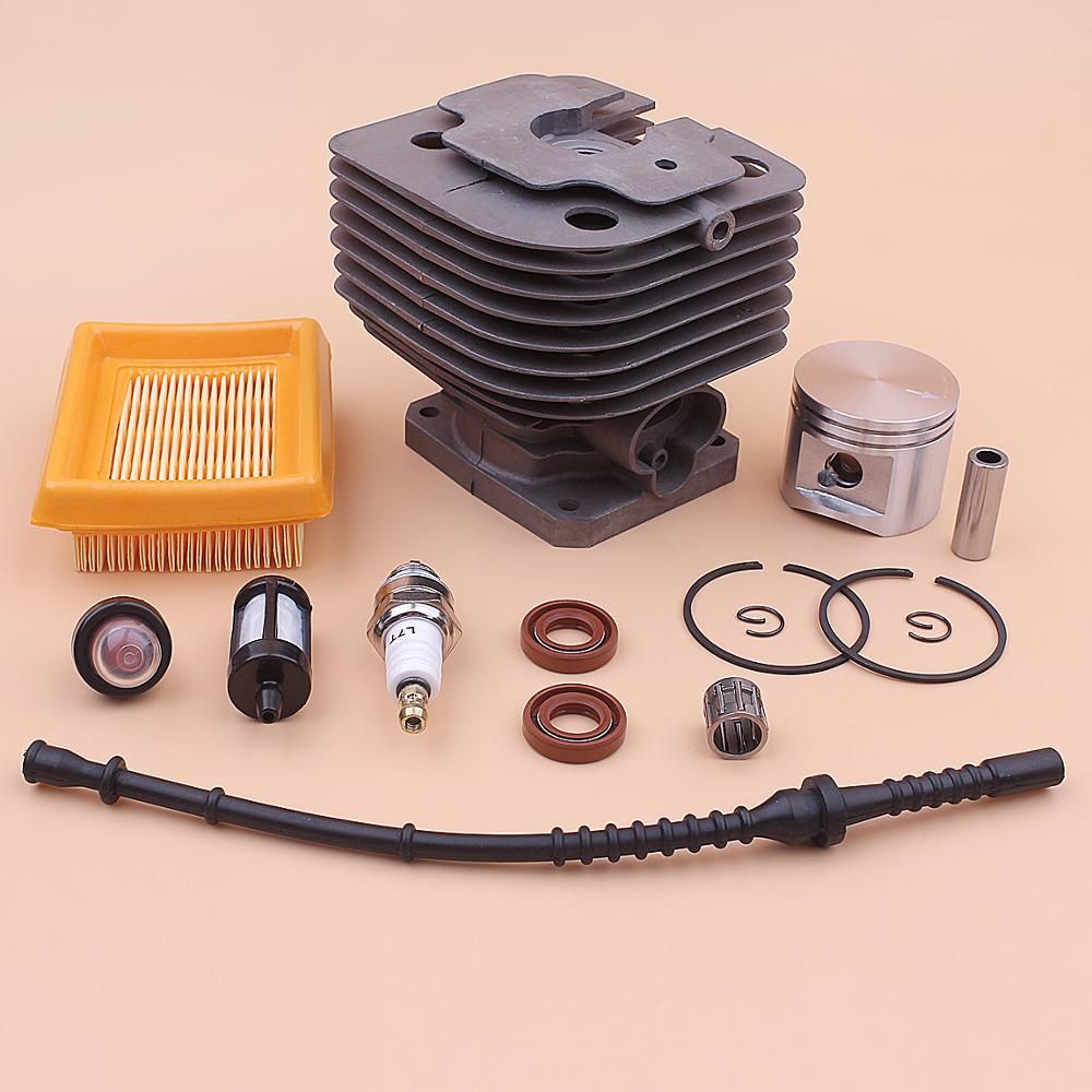 Bulb Plug 42mm Stihl 450 Trimmer Line Oil Fuel Filter Air FS 020 1211 4128 FS450 Spark Seal For Piston Primer Kit Cylinder
