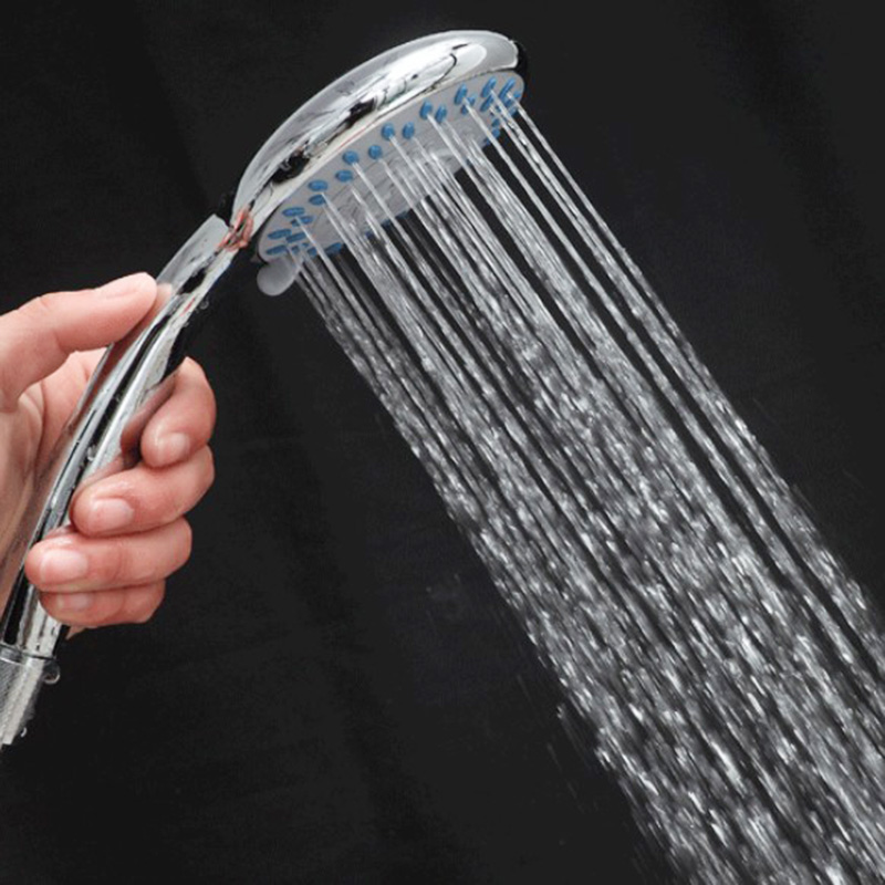 Shower Head 3 Modes Shower Household Multifunctional Bath Showerhead Hose Bathroom Accessories Rainfall Shower Heads