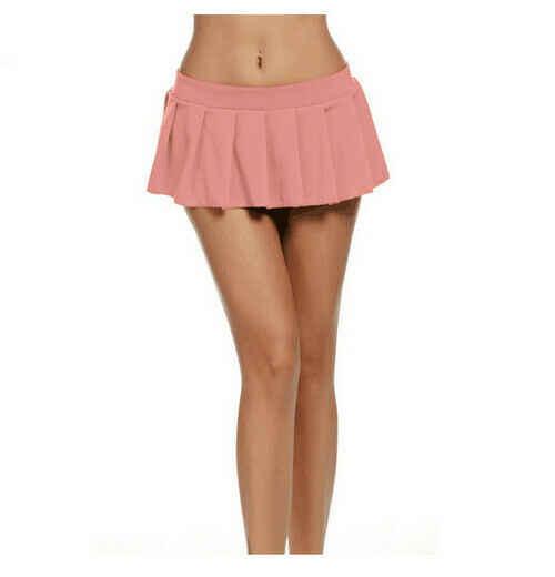 패션 여성 스커트 2020 솔리드 테니스 높은 허리 일반 스케이팅 플레어 Pleated 짧은 미니 핫 스커트