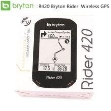 ใหม่ R420 Bryton Rider ไร้สาย GPS GNSS / ANT + บลูทูธความเร็ว CADENCE Heart Rate จักรยานจักรยานขี่จักรยานคอมพิวเตอร์