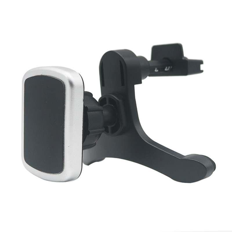 Magnetic Car Air Vent Mount Mobile Phone Holder Car Kit Magnet For iPhone X 7 8 Plus Universal Smartphone Holder with Cable Clip