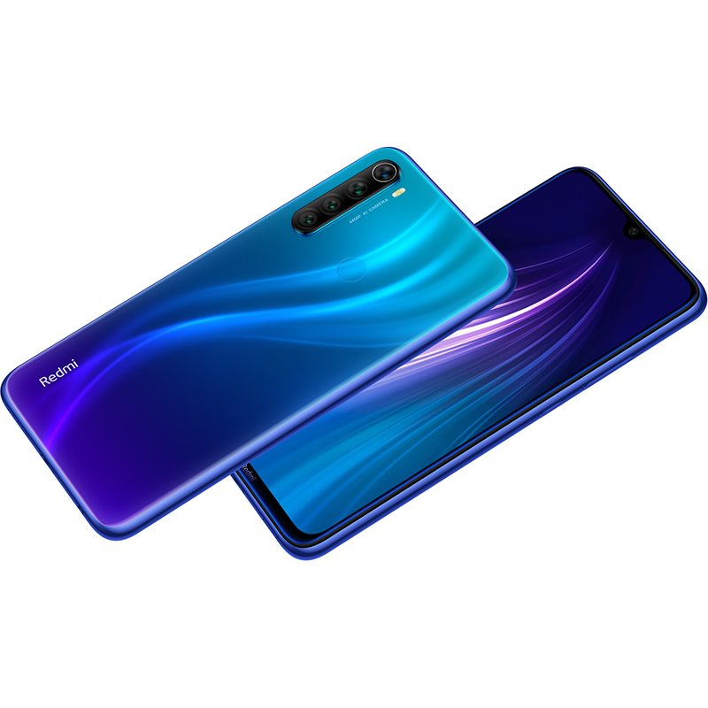 Global ROM Xiaomi Redmi Note 8 6GB 64GB/128GB 48MP Quad Cams Smartphone Snapdragon 665 Octa Core 6.3