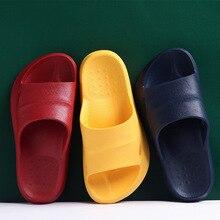 Bathroom Sandals Slides Slippers Men Anti-Slip Outdoor Women Home in Solid Four-Seasons