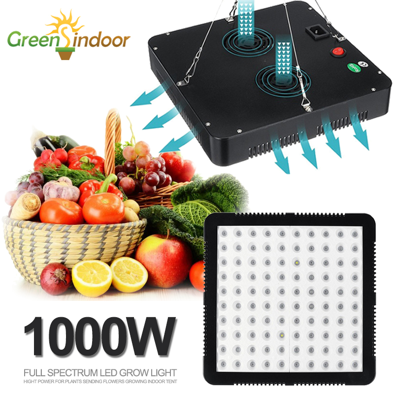 1000W Full Spectrum Led Grow Light Plant Growth Lamp Indoor Lighting For Plants Grow Tent Hydroponic Growing Seedling Phyto Lamp