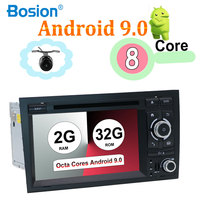 Octa Core For Audi A4 B6 B7 S4 B7 B6 RS4 B7 SEAT Android 9.0Wifi GPS Navi SWC Bluetooth Camera Canbus Support 4G,DAB,OBD,TV,TPMS