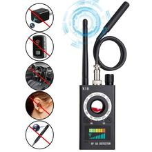 Wireless RF Signal Detector Portable Radio Bug Scanner Laser Lens Finder Gps Eavesdropping Anti Spy Candid  Camera Video Tracker hot sale cc308 mini wireless anti candid camera signal gsm device finder privacy protect security anti eavesdropping