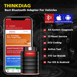 Old Boot Thinkdiag work For Diagzone Full system OBD2 all system Diagnostic Tool 15 reset services PK Launch Easydiag obd2 Tools