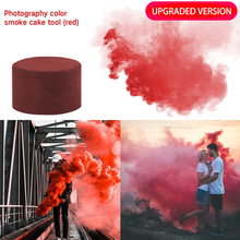 2020 красочные дымовые таблетки сгорание смог торт эффект дымовая бомба таблетки Портативная Фотография реквизит Хэллоуин новинка