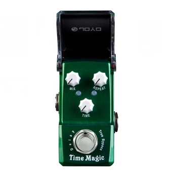 JOYO JF-304 Time Magic Digital Delay Guitar Effect Pedal for Electric Bass PT2399 Chip Tone Part True Bypass