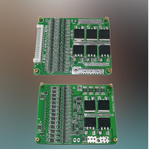 Image 2 - 8S 24V BMS Li Ion Lipo Lifepo4 литиевая батарея Защитная плата 20A 30A 40A общий порт баланс EBike EV Cell Pack DIY модуль