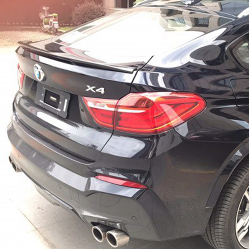 For <font><b>BMW</b></font> <font><b>F26</b></font> X4 <font><b>Spoiler</b></font> High Quality ABS Material Car Rear Wing Primer Color Rear <font><b>Spoiler</b></font> For <font><b>BMW</b></font> X4 <font><b>F26</b></font> <font><b>Spoiler</b></font> 2015-2016 image
