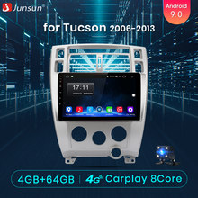 Junsun V1 pro 4G + 64G CarPlay Android 9,0 DSP para Hyundai Tucson 2006 2007-2010 auto Radio Multimedia reproductor de Video GPS de navegación(China)