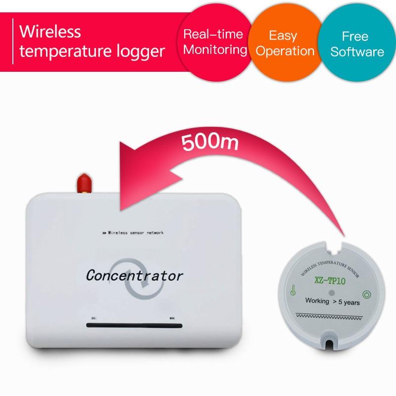 Free Software Wireless Temperature Sensor Transmitter Temperature Data Logger Remote Wireless Temperature Monitor 433mhz/868mhz/