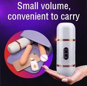 Image 5 - ワイヤレスリモコンセックスバイブレーター自動女性オナホール吸引カップセックスマシンガン女性のための大人のおもちゃ