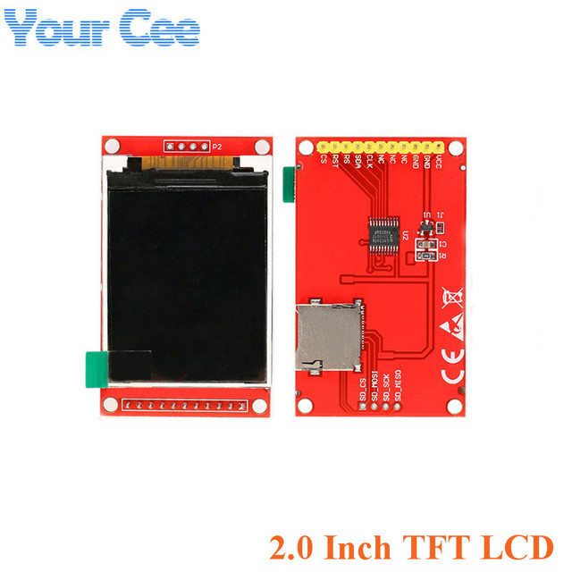 1.44/1.8/2.0/2.2/2.4/2.8 Inch Colorful TFT LCD Screen Display Module SPI Serial Drive ST7735 ILI9225 ILI9341128*128 240*320 5